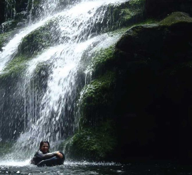 Kloofing Waterfall